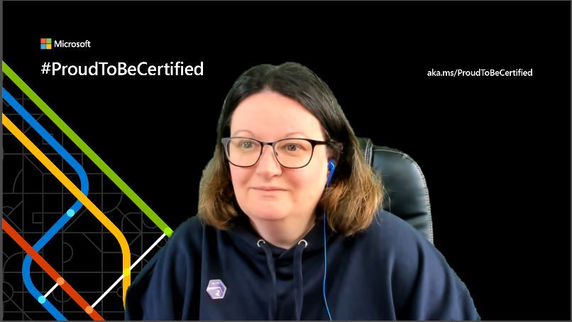 Microsoft  #ProudToBeCertified  aka. ms/ProudT03eCertified